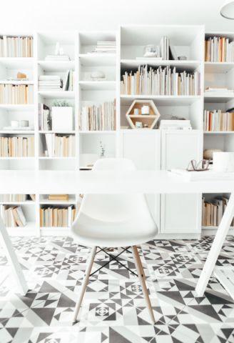 书房北欧风格效果图大全2017图片_土拨鼠唯美质感书房北欧风格装修设计效果图欣赏