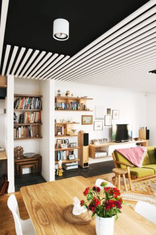 客厅北欧风格效果图大全2017图片_土拨鼠极致时尚客厅北欧风格装修设计效果图欣赏