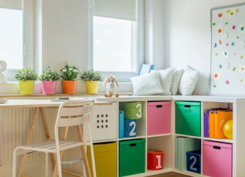 儿童房北欧风格效果图大全2017图片_土拨鼠大气格调儿童房北欧风格装修设计效果图欣赏