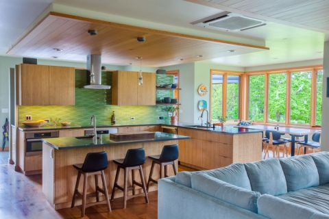 厨房现代风格效果图大全2017图片_土拨鼠古朴奢华厨房现代风格装修设计效果图欣赏