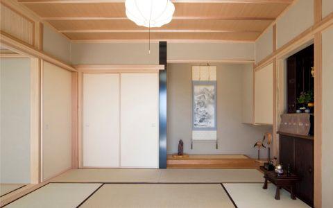 客厅日式风格效果图大全2017图片_土拨鼠极致时尚客厅日式风格装修设计效果图欣赏