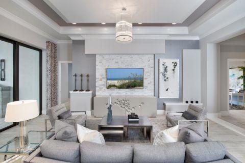 客厅现代风格效果图大全2017图片_土拨鼠时尚迷人客厅现代风格装修设计效果图欣赏