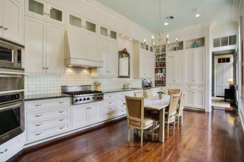 厨房简欧风格效果图大全2017图片_土拨鼠现代质朴厨房简欧风格装修设计效果图欣赏