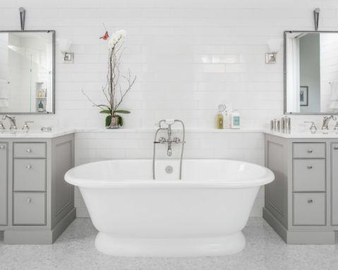 卫生间美式风格效果图大全2017图片_土拨鼠极致格调卫生间美式风格装修设计效果图欣赏