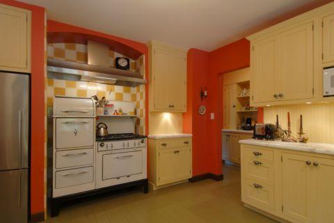 厨房混搭风格效果图大全2017图片_土拨鼠美好唯美厨房混搭风格装修设计效果图欣赏