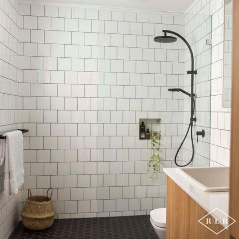 浴室北欧风格效果图大全2017图片_土拨鼠温馨优雅浴室北欧风格装修设计效果图欣赏