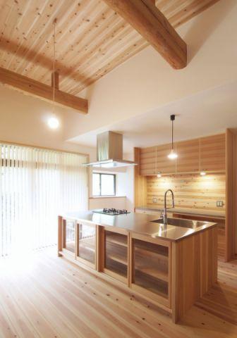 厨房日式风格效果图大全2017图片