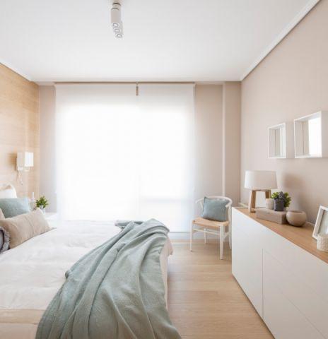 卧室北欧风格效果图大全2017图片