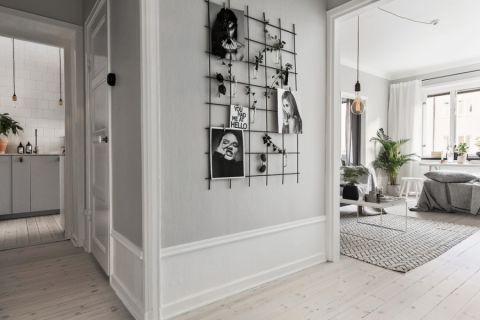 走廊北欧风格效果图大全2017图片_土拨鼠简洁富丽走廊北欧风格装修设计效果图欣赏