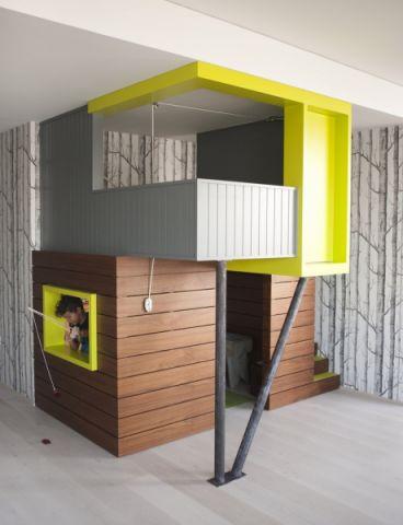 儿童房现代风格效果图大全2017图片_土拨鼠现代质朴儿童房现代风格装修设计效果图欣赏