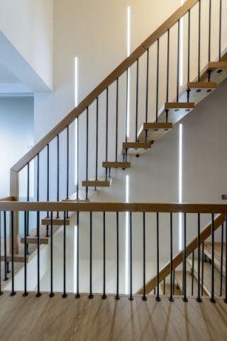楼梯北欧风格效果图大全2017图片_土拨鼠时尚优雅楼梯北欧风格装修设计效果图欣赏
