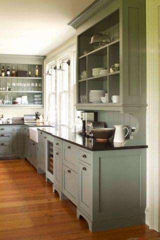 厨房简欧风格效果图大全2017图片_土拨鼠文艺迷人厨房简欧风格装修设计效果图欣赏