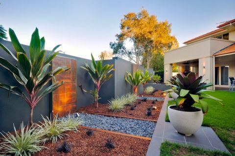 花园现代风格效果图大全2017图片_土拨鼠清新迷人花园现代风格装修设计效果图欣赏