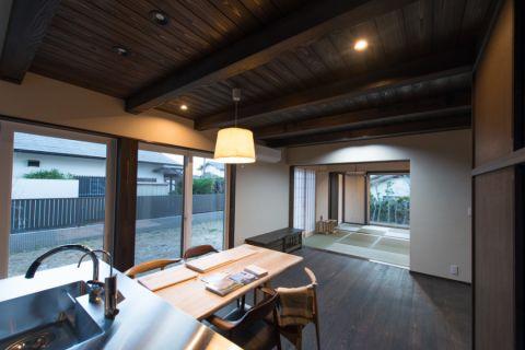 客厅日式风格效果图大全2017图片_土拨鼠个性优雅客厅日式风格装修设计效果图欣赏