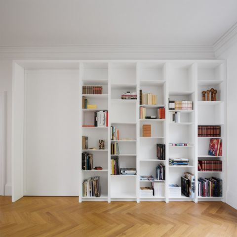 书房现代风格效果图大全2017图片_土拨鼠精致沉稳书房现代风格装修设计效果图欣赏