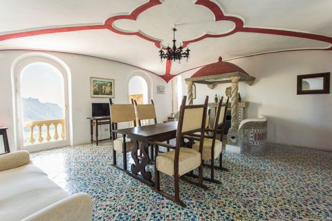 餐厅地中海风格效果图大全2017图片_土拨鼠美好自然餐厅地中海风格装修设计效果图欣赏