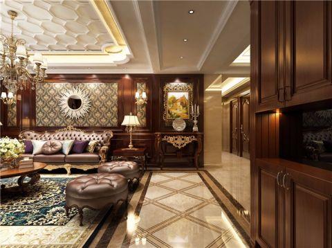 怡佳▪天一城228平米古典欧式风格三居室装修效果图