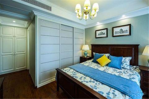 海马九如府137平美式风格三居室装修效果图