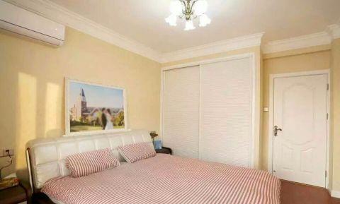卧室白色衣柜现代欧式风格装潢效果图