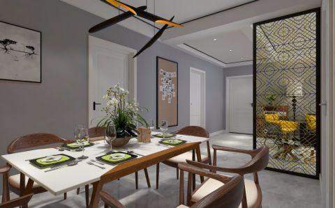 餐厅米色细节现代简约风格装饰设计图片