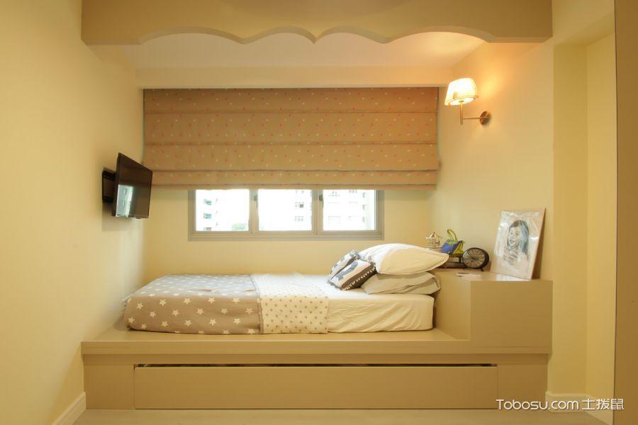 2020简欧儿童房装饰设计 2020简欧床装修效果图片