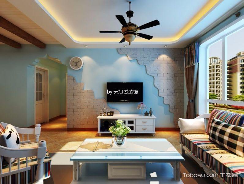 79平米现代简约风格两室装修效果图