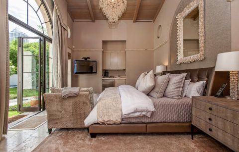 卧室地中海风格效果图大全2017图片_土拨鼠美好质感卧室地中海风格装修设计效果图欣赏