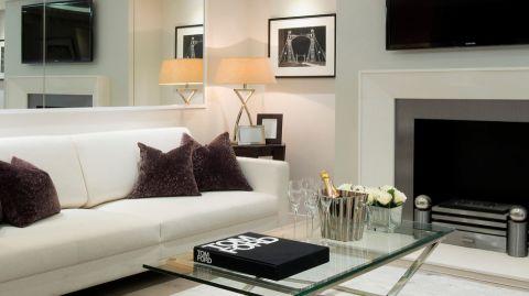 客厅现代风格效果图大全2017图片_土拨鼠时尚质感客厅现代风格装修设计效果图欣赏