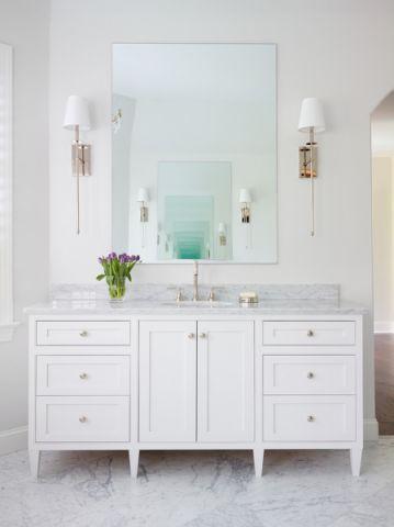 浴室美式风格效果图大全2017图片_土拨鼠大气雅致浴室美式风格装修设计效果图欣赏