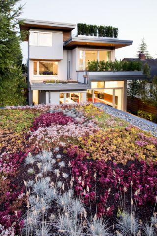 花园细节现代风格装潢效果图