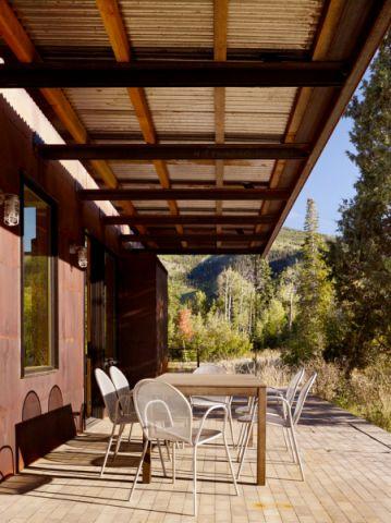 阳台茶几现代风格装潢设计图片
