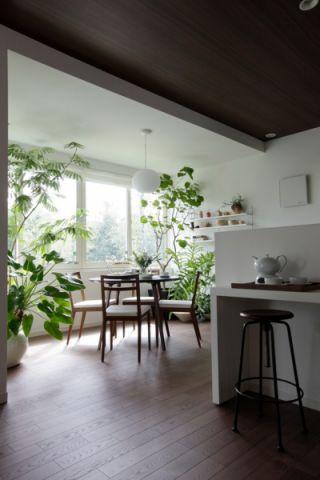 客厅细节日式风格装修设计图片