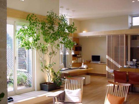 客厅细节日式风格装潢设计图片