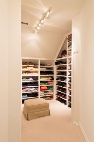 衣帽间橱柜简欧风格装饰设计图片