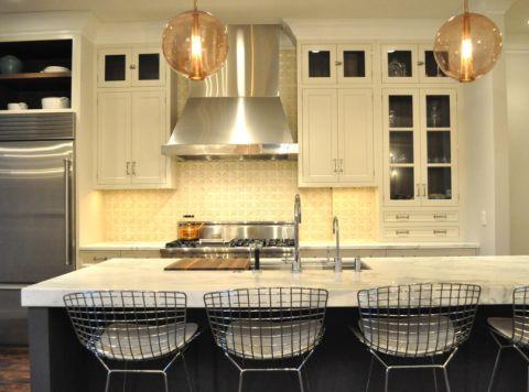 厨房厨房岛台混搭风格效果图