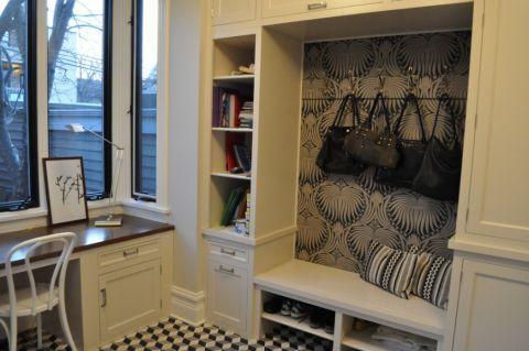 玄关衣柜混搭风格装修效果图
