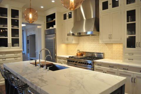 厨房厨房岛台混搭风格装饰图片