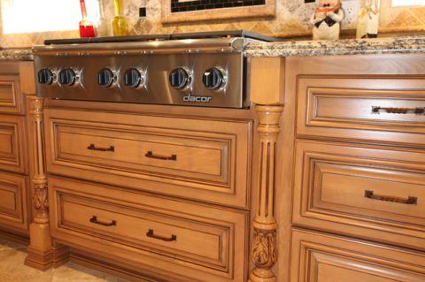 厨房细节地中海风格效果图