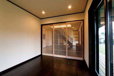 玄关地砖日式风格装饰图片