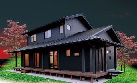 外景外墙日式风格装潢设计图片