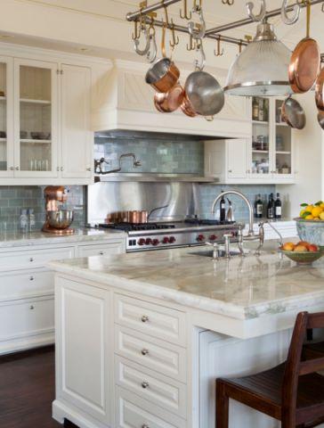 厨房地中海风格效果图大全2017图片_土拨鼠极致格调厨房地中海风格装修设计效果图欣赏