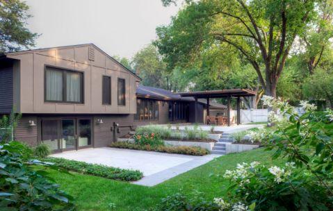 花园细节现代风格装饰效果图
