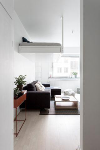 卧室细节北欧风格装潢设计图片