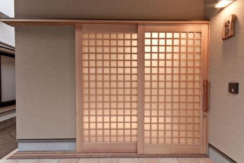 客厅推拉门日式风格装饰设计图片
