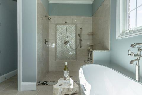 浴室细节地中海风格装修效果图