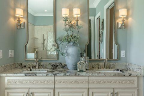 浴室细节地中海风格装饰效果图