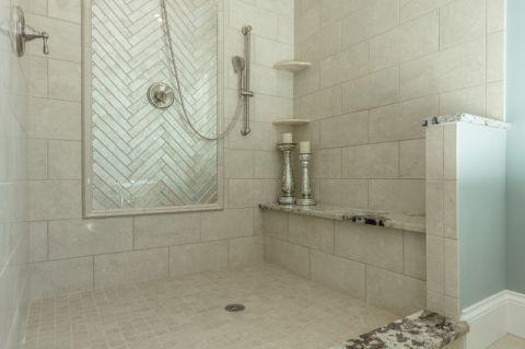 浴室细节地中海风格装修图片