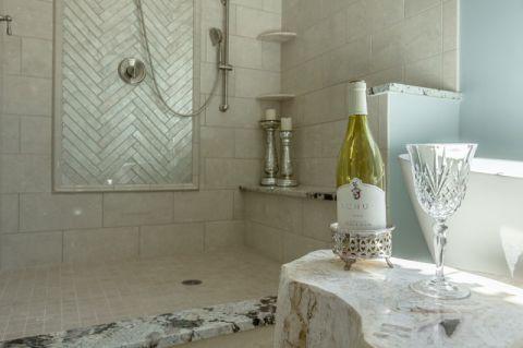 浴室细节地中海风格装潢图片