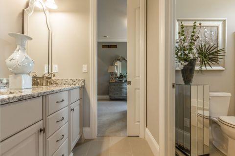 浴室细节地中海风格装修设计图片