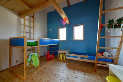儿童房日式风格效果图大全2017图片_土拨鼠现代温馨儿童房日式风格装修设计效果图欣赏